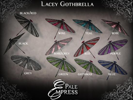 lacey gothbrella