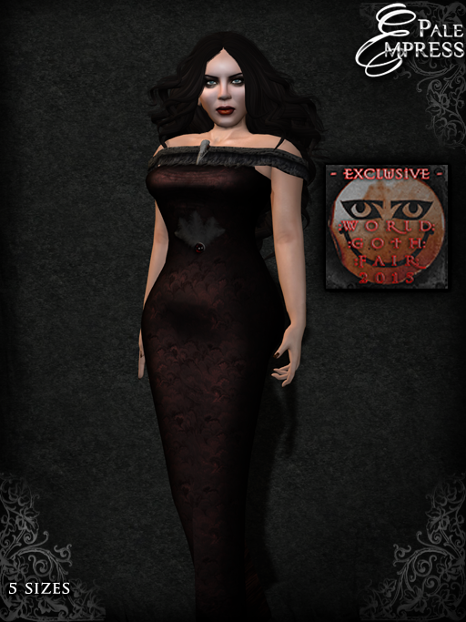Pale Empress ~ Nevermore poster template WGF exc,