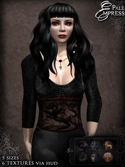 mythos corset template